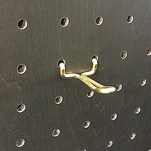 真鍮フック 30 ANB-711 2本入り