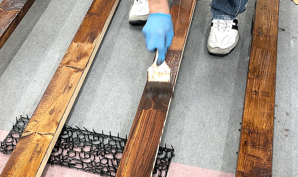 木材の準備・カット・塗装